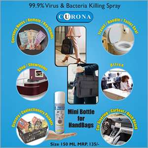 Handbags Mini Bottle Virus Killing Spray