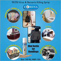 Handbags Mini Bottle Virus Killing Spray