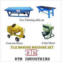 Vibro Designer Tile Machine