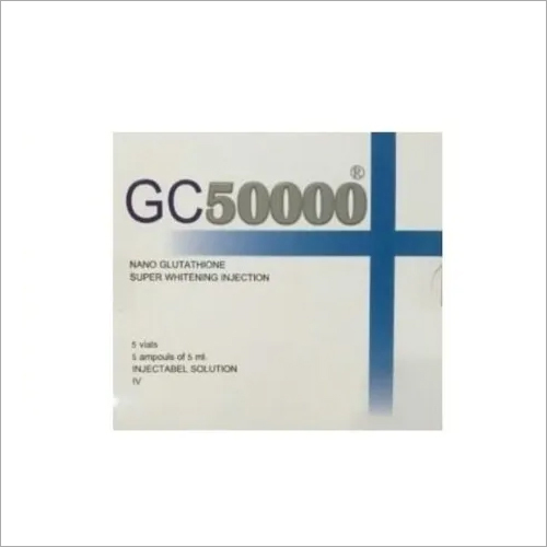 GC 50000 Nano Glutathione super Whitening Injection