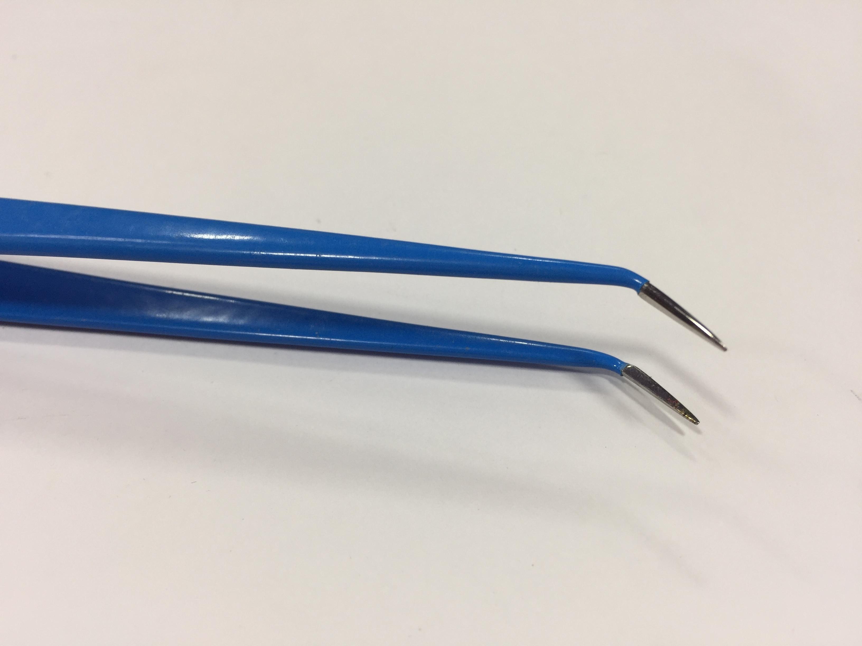 Bipolar angular Forceps 11cm