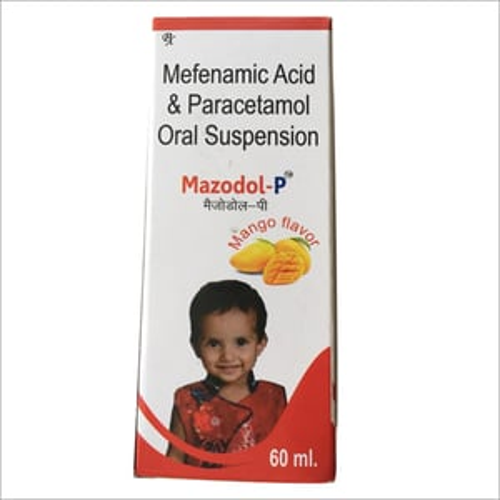 Mefenamic Acid and Paracetamol Oral Suspension