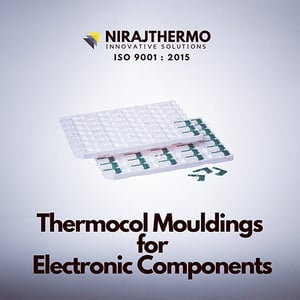 Thermocol Mouldings for Electronic Components