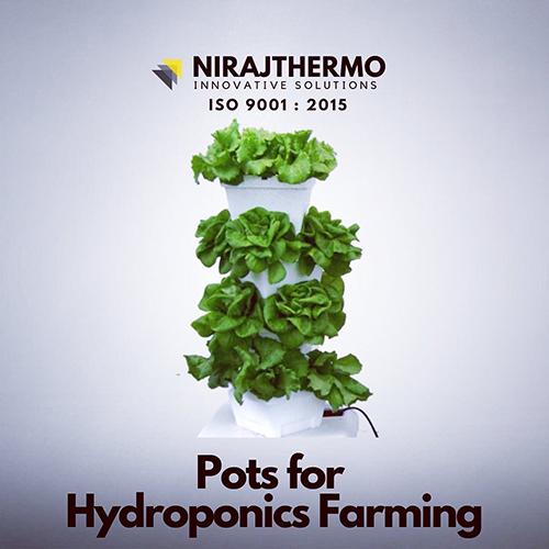 Pots for Hydroponics Farming