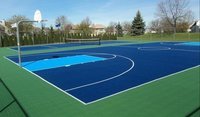 Tennis Court Indoor And Outdoor