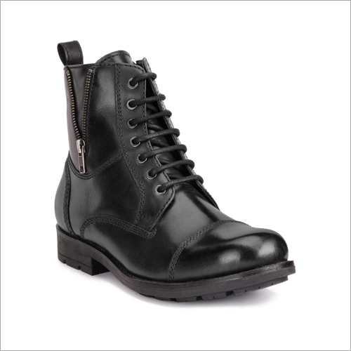 Mens Leather Long Boots