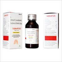 Ambroxol HCI - Levosalbutamol - Guaiphenesin and Menthol Syrup