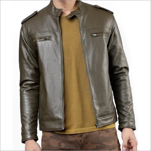 Mens Fancy Leather Jacket