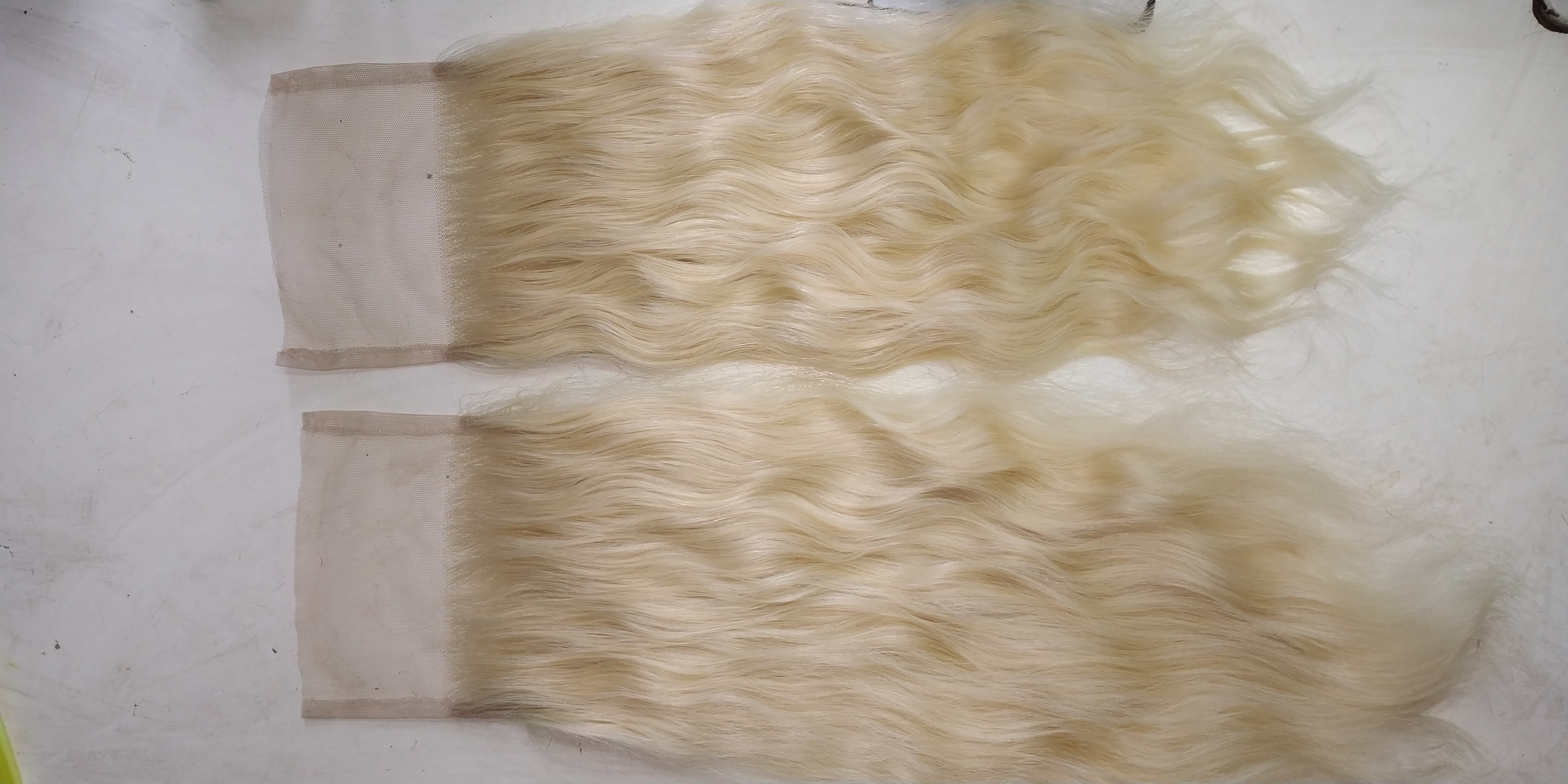 Blonde Hair Closure HD Lace