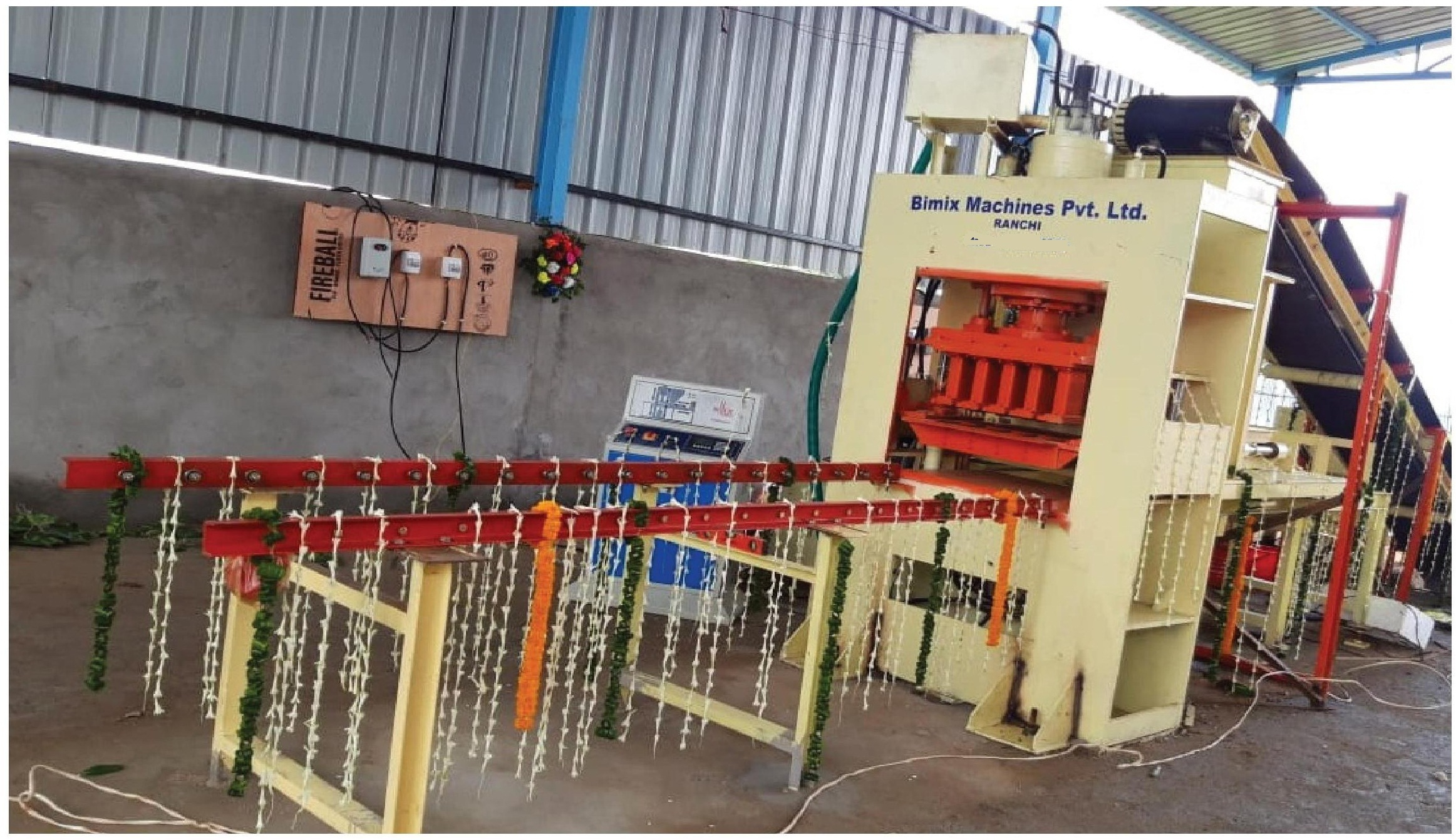 Fully Automatic Fly Ash Bricks making Machine