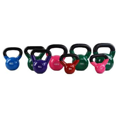 Painted Kettlebell