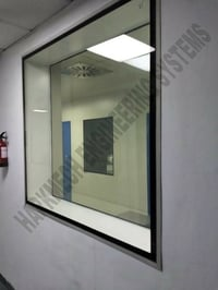 Flushed Clean Room Window