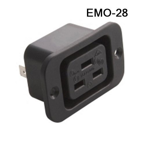 ELCOM EMO-28, Screw Mount Socket 16A (Female)