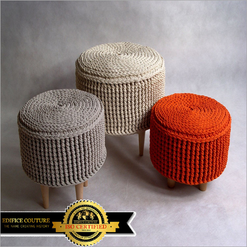Pouf Stool and Mudda