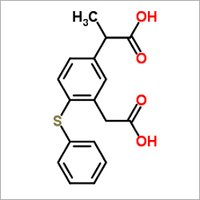 5-(1- Carboxy Ethyl)-2-(Phenylthio)phenyl Acetic Acid