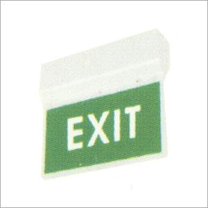Photoluminescent Exit Signage