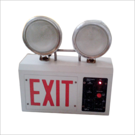 Fire Exit Emergency Light