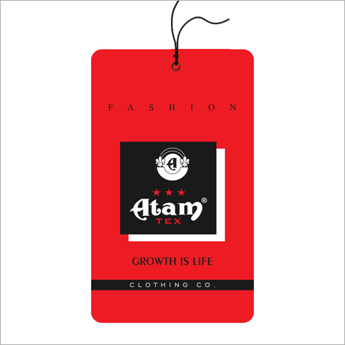 Printed Clothing Tag