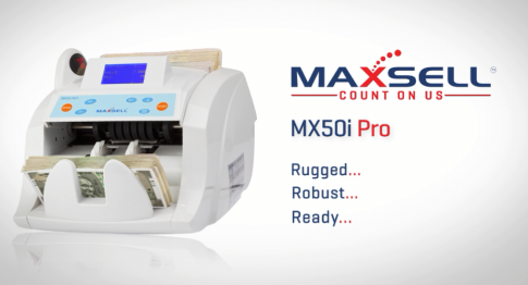 Maxsell Mx50i pro Fake note, currency counting machine, cash counter