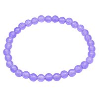 Light Purple Quartz Beaded Bracelet PG-156702