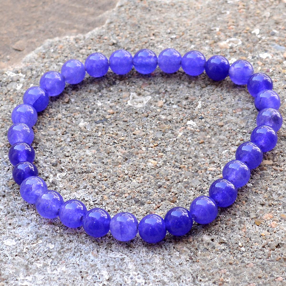 Amethyst Quartz Beaded Bracelet PG-156708