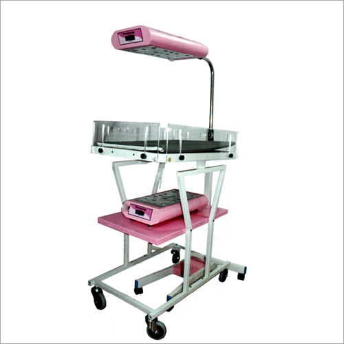 Double Surface LED Stand With Trolley