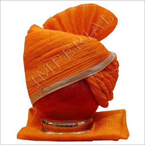 Jodhpuri Kesariya Traditional Groom Pagri