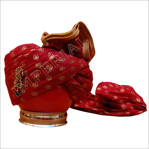 Imperial Special Groom Safa Turban And Pagri