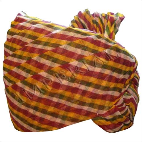 Multicolor Fine Lahriya Safa And Pagdi
