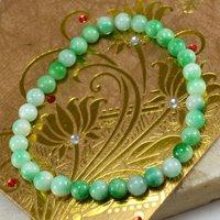 Green Quartz Beaded Bracelet  PG-156709
