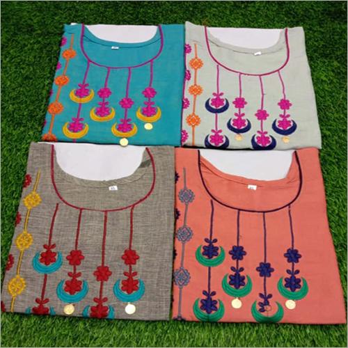 Embroidery Kurtis