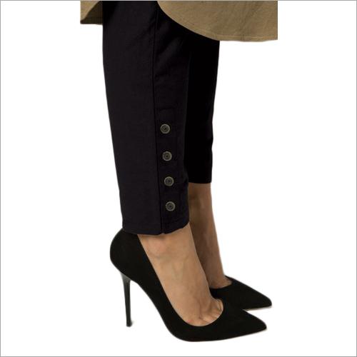 Ladies Stretchable Nickel Pant