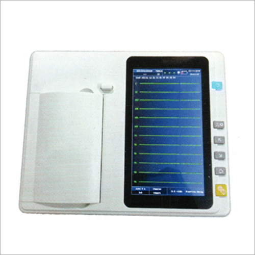 6 Channel ECG 601 Touch Screen LED Machine