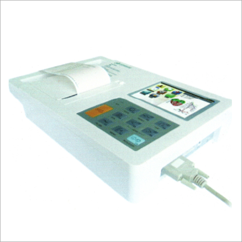 6 Channel ECG 7.0 LED Machine