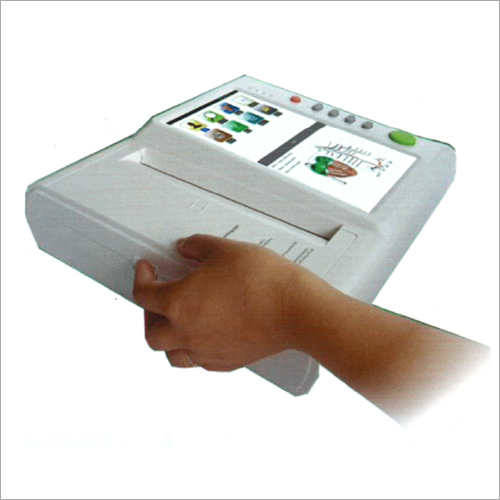 12 CHANNEL ECG MACHINE WITH TOUCH SCREEN