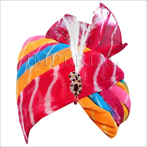 Multicolor Lahriya Handmade Safa