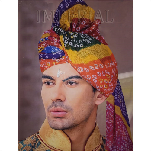 Traditional Jodhpuri Wedding Turban