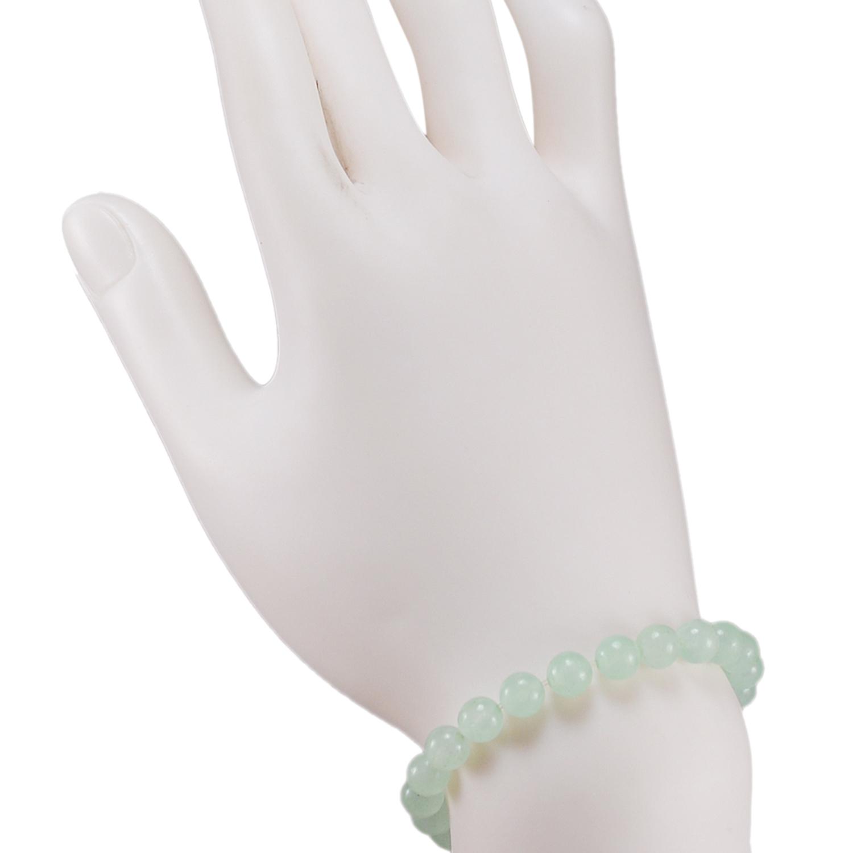 Light Green Quartz Beaded Bracelet PG-156712