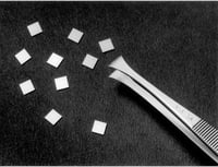 Silicon Wafer, chips 5 x 5 mm. (Approx 270 chips per wafer)