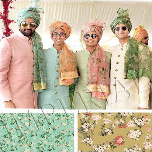 Abhishek Bachchan Floral Printed Safa