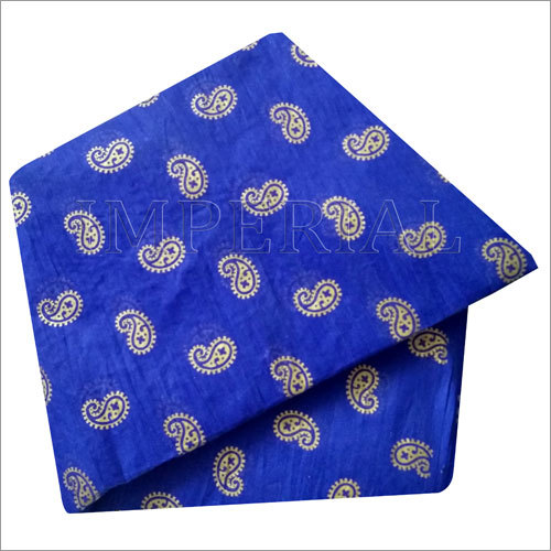 Printed Blue Safa