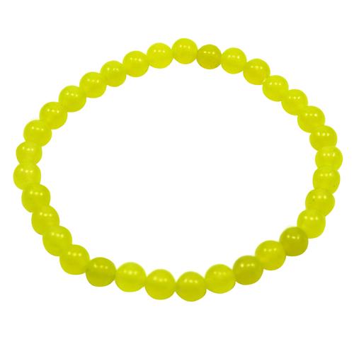 Yellow Quartz Beaded Bracelet PG-156715