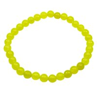 Yellow Quartz Beaded Bracelet PG-156715