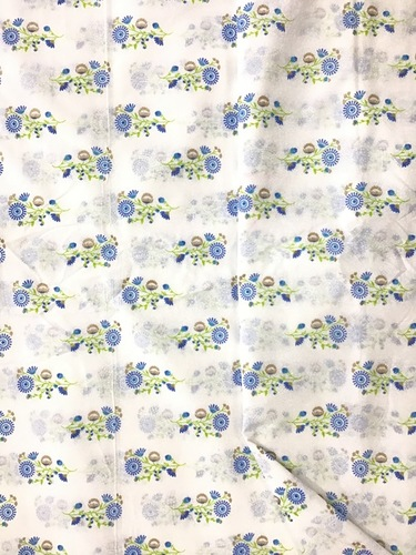 Cotton Foil Print Fabric
