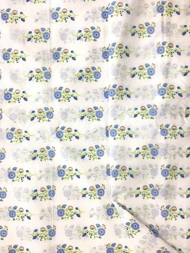 Cotton Foil Print Fabric