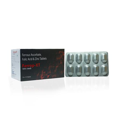 FERROUS ASCORBATE EQ TO ELEMENTAL IRON 100 MG + FOLIC ACID 1.5 MG + ZINC SULPHATE + VITAMIN D3 + VITAMIN B12