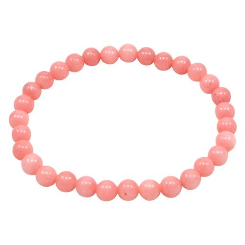 Pink Quartz Beaded Bracelet PG-156723