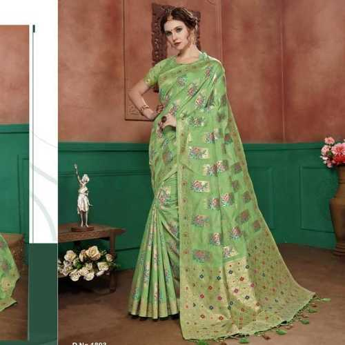 Banarasi cotton saree