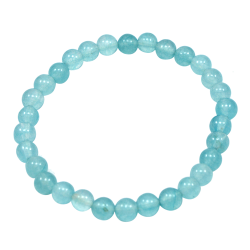 Light Blue Quartz Beaded bracelet PG-156726