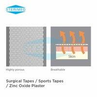 Porousplast Woven Zinc Oxide Surgical Tape